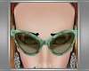 Bakelite Sunglasses-Aqua