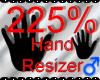 *M* Hand Scaler 225%