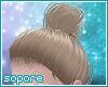 *s* messy hair bun blo