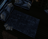 Blue Thick Pile Rug