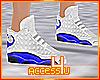 ! Blue Modern Sneakers F