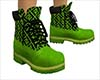 Fendi Green Timberland