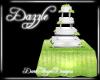 Lime Wedding Cake
