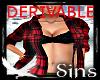 Derivable Shirt & Bra
