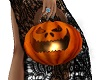 Ghoulish Pumpkin Purse