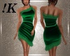 !K! Green Cocktail Dress