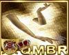 QMBR Gloves Gold Opera