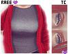 ® Tc.Basic Red Hoodie