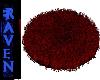 Red rug shaggy