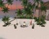 The Hut Beach Seating