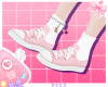 蜂| Pinku Lace Ups