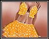 Daisy Bikini Skirt Yel