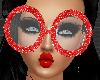 *Dork Red Glasses