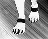 Black Paw Cuffs