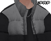 【P】 Grey Padded Coat