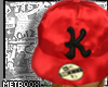 M|Krew Red Satin Fitt'd