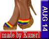 !K! RAINBOW Slippers