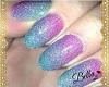 Nails Neon Purple