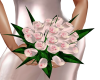 pink bridesmaid flowers