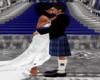 Scottish wedding wall