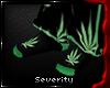 *S Weed Socks