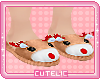 ✧˚Reindeer slippers