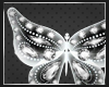 Glitter butterfly pet