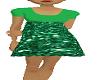 angel dress green