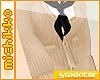 *M Cream Baggy Sweater