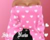 Pink Heart Sweater