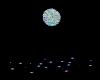 disco ball & floor light