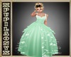 GREEN KID PRINCESS DRESS