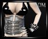 [DM] Layered Corset Grey