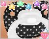 ! Polka Dot Black White