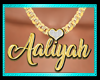 Aaliyah necklace