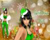 Green Xmas Hat