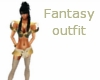 fantasy outfit gold