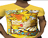 *CA* Yellow Graphic Tee