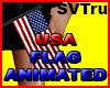 usa flag animated