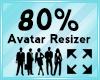 Avatar Scaler 80%