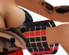Black & Red Bracelet(L)