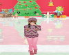 kids golden pink winter
