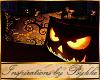 I~Halloween Firelit Sofa