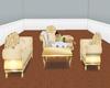 yellow sofa/pose