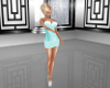 Lacy Teal Dress