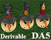 (A) Bumper Scarecrows