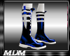 (M)~Blade Boots blu/wht
