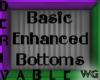 Enhanced Bottoms Deriv.