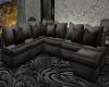 Grey Magenta Couch