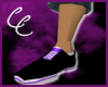 +Cc+Royalz purple shoe